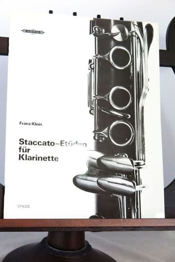 Klein F - Staccato Studies for Clarinet